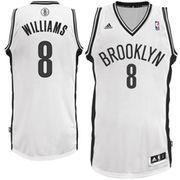 NBAStore.com - NBAStore.com Mens Brooklyn Nets Deron Williams adidas White Swingman Home Jersey - AdoreWe.com