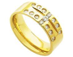 Aliança em ouro 18k  Em até 12x de R$ 224,99  Frete Grátis  www.duealiancas.com.br