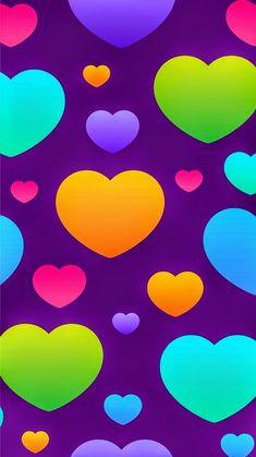 #wallpaper #heart #colours