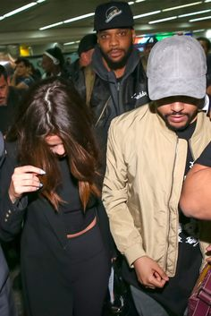 March 25: Selena arriving at São Paulo–Guarulhos International Airport with The Weeknd in São Paulo, Brazil [HQs]