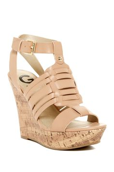 51e77bf02743d Distinct Platform Wedge Sandal by G by GUESS on  HauteLook Platform Wedge  Sandals