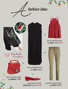 A new #fashion idea with @zara @Mango @hmespana @Ursulitas_shoes #esprit