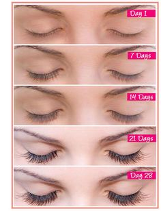 Grow longer lashes in 28 days
