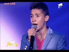 "▶ Valentin Poenariu - Lara Fabian - ""Je t'aime"" - Next Star - YouTube"