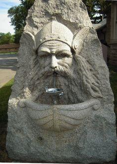 .Norway Viking Sculpture