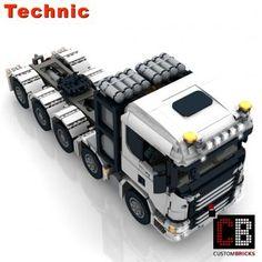 Lego Factory, Truck Detailing, Lego Truck, Shop Lego, Lego Technic, Lego City, Custom Items, Trucks, Lego Stuff