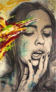 Delicadeza y sensualidad en la obra de Gabriel Moreno - Esto no es arte