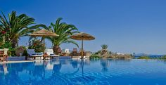 Kavos Hotel near one of the Naxos' best beaches has spacious accommodation, gardens and a large swimming pool: great for relaxed family holidays in Greece. Naxos Greece, Greece Hotels, Honeymoon Suite, Hotel Services, Greece Holiday, Greece Vacation, Pool Bar, Great Hotel, Swimming Pools
