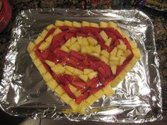 """""""Is This the Hall of Mirrors?"""": Super Hero Birthday Food"""