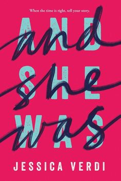 Cover Reveal: And She Was by Jessica Verdi - On sale March Design Typography, Logo Design, Typography Poster, Design Art, Type Design, Rock Posters, Typographie Fonts, What Is Fashion Designing, Banners