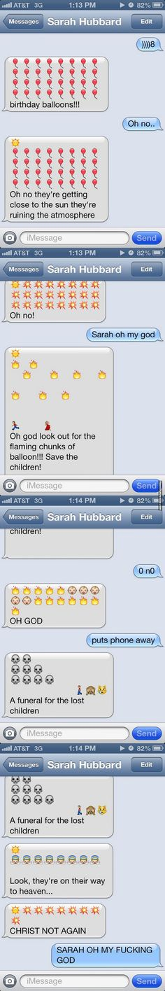 Text message trolling