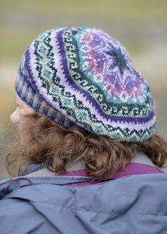 Fair Isle Tam Sumburgh - the fair isle tam that I knit for my visit to Shetland.