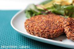 Quinoa & Almond Veggie Burger