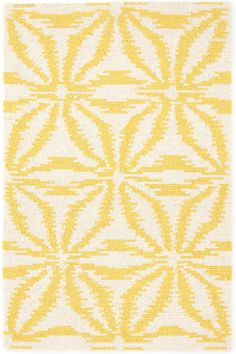 Dash & Albert | Aster Gold Wool Micro Hooked Rug | A micro-hooked treat for the feet in three versatile colors, our Aster wool hooked rug is the perfect style statement for any room in the house.