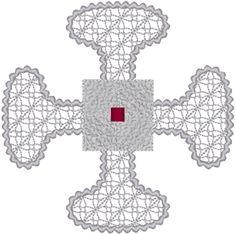 Canterbury Cross Embroidery Design