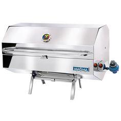 Magma Monterey Gourmet Series Gas Grill - https://www.boatpartsforless.com/shop/magma-monterey-gourmet-series-gas-grill/
