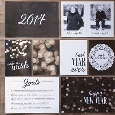 Sweet Shoppe Designs :: FREE Samples :: 2014 by Kristin Cronin-Barrow 2014 Title Page Journal Cards  #pocketscrapbooking