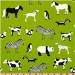 Menagerie Animals Lime