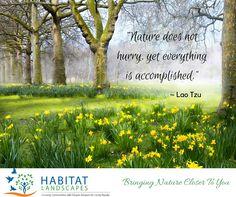 #Quote for inspiration I #Habitat-Landscapes