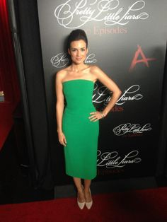 Torrey Devitto at the #PLL 100th episode party!   Pretty Little Liars