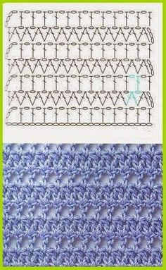 1000 idEes sur le th?me Points Au Crochet sur Pinterest Crochet ...