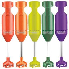 Colorful kitchen tools, would match my colorful Rachael Ray pots and pans set and my Kitchen Aid tools!