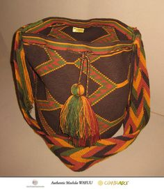 Wayuu SUSU Special Handmade Mochila Bag from Colombia by FaridasPassions.com, via Flickr