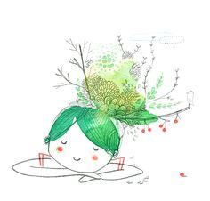Green ~ Cecile Hudrisier ♡