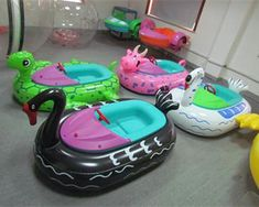 Plastic Bumper Boats for Kids