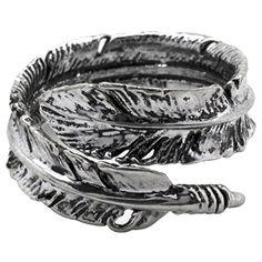 Silver Phantom Jewelry Women's Silver Tone Adjustable Bird Feather Wrap Ring Silver Phantom Jewelry http://www.amazon.com/dp/B00PM40W5C/ref=cm_sw_r_pi_dp_X3xdwb0RG8T9M