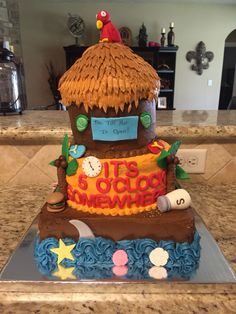Jimmy Buffett cake