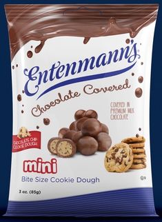 Bite Size Cookies, Mini Cookies, Edible Cookie Dough, How To Make Cookies, Chocolate Covered, Oatmeal, Chips, Rolls, Breakfast