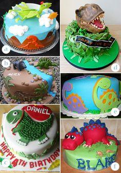 Image Detail for - Dinosaur Cakes - Round, Rectangle and Dinosaur-Shape Cakes | KandyOh ...