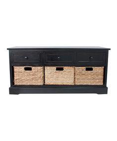 Loving this Montgomery Storage Bench on #zulily! #zulilyfinds