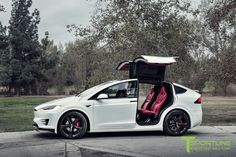 Tuned Tesla Model X P90D selling for $180,000 on eBay.