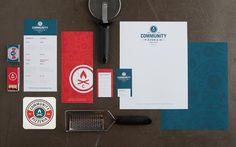 Community Pizzeria - Brand Identity by Foundry Co.