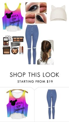 """life"" by autumn-rose-leonard ❤ liked on Polyvore featuring Topshop, women's clothing, women's fashion, women, female, woman, misses and juniors"