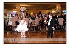 The flower girl and the ring bearer #wedding