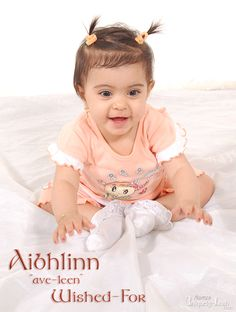 """Aibhlinn """"ave-leen"""" - Wished-For  - I want my kids to have cool names :)"""