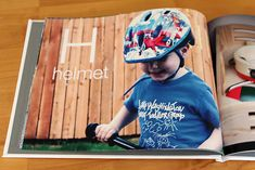 Class alphabet book using photos of children. play yard, classroom. Use a professional photo book site or go homemade with photos, markers, and paper!