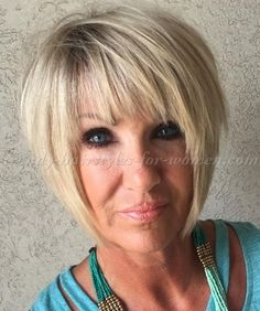 short+hairstyles+over+50+-+bob+hairstyle+with+bangs