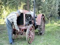 Starting An Old Tractor