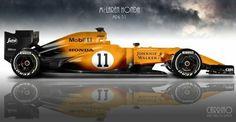 McLaren Honda MP4 31 ...