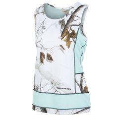 cb7091bf1c544 Realtree Girl AP Mint Camo Huntington Work Out Tank in Medium Camo Clothes