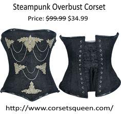 Steam Punk Corset Corset Shop, Overbust Corset, Steam Punk, Lingerie, Boots, Collection, Shopping, Color, Women