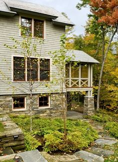 Screened porch - Smith & Vansant Architects