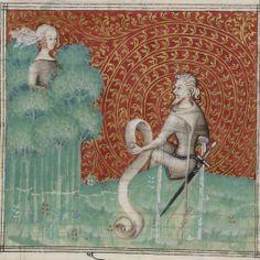 Guillaume de Machaut, Poésies: Jugement du roi de Bohème, dit Jugement du roi de Behaigne (1-22v), Remède de Fortune (23-58v), Dit de l'Alérion (59-92v), Dit du Verger (93-102v), Dit du Lion (103-120v), Louange des Dames (120v-148v), Lais, motets, ballades, rondeaux et virelais (148v-225). Auteur : Guillaume de Machaut. Auteur du texte Date d'édition : XIVe s. (ca. 1350-1355)