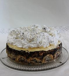 Mennyei mákos guba torta Recipe Mix, Guam, Cake Recipes, Cheesecake, Good Food, Sweets, Healthy Recipes, Meals, Baking