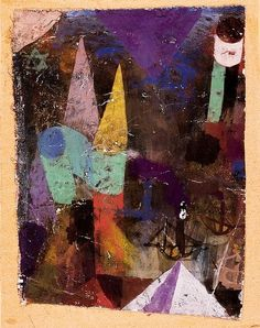 Paul Klee,  Hafenbild nachts, 1917