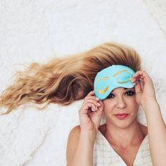 Amazon.com: Breakfast at Tiffany's inspired Holly Golightly Sleep Eye Mask: Handmade